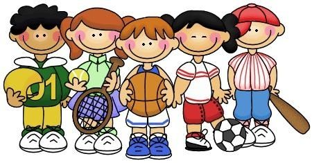 Kids Playing Sports Clipart - clipartsgram.com | Sports theme classroom, Sports classroom, Classroom themes