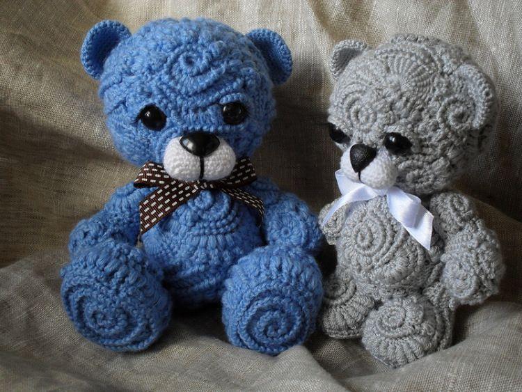 Freeform Crochet Teddy Bears Hekel Pinterest Crochet