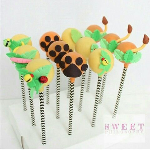 Lion King Inspired Cake Pops Lion King Cupcakes Lion King Baby