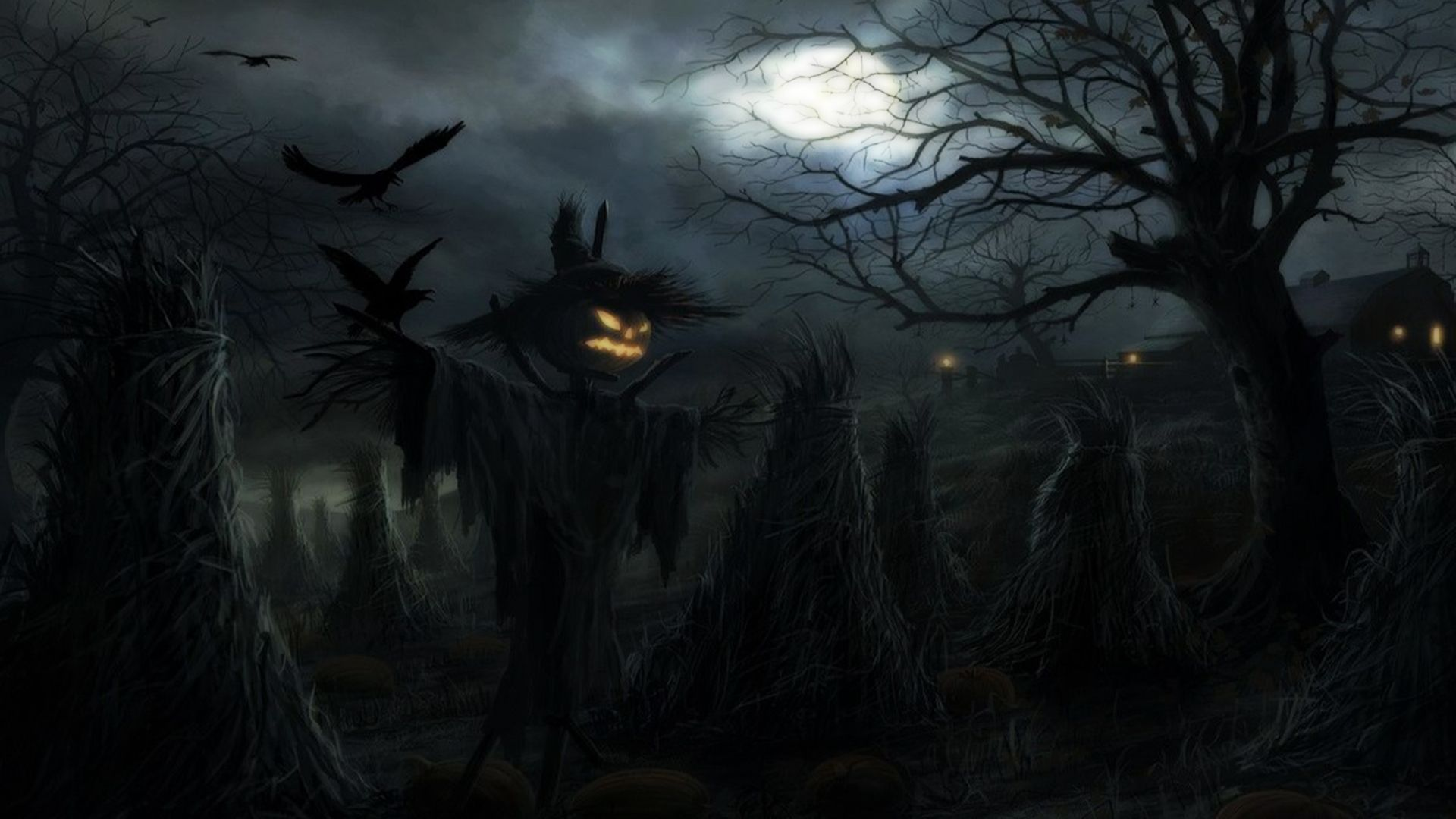 Scary Halloween Background wallpaper Sentimental