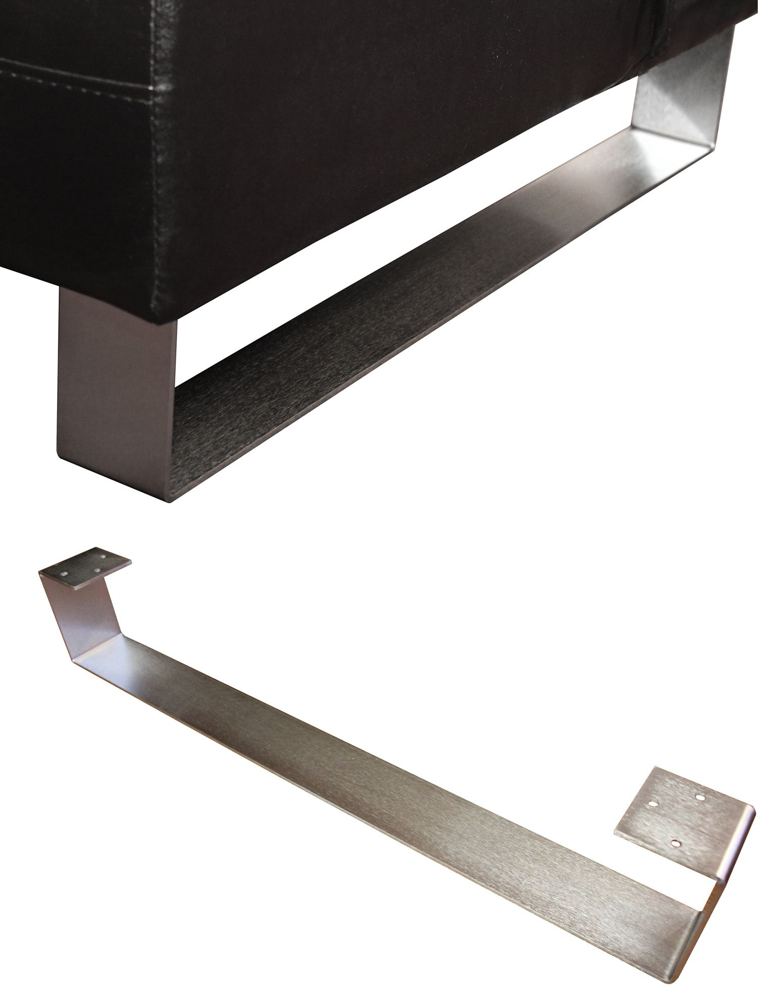 Furniture Legs For Ottomans contemporary sofa legs | modern sleigh legs | metal sofa ottoman