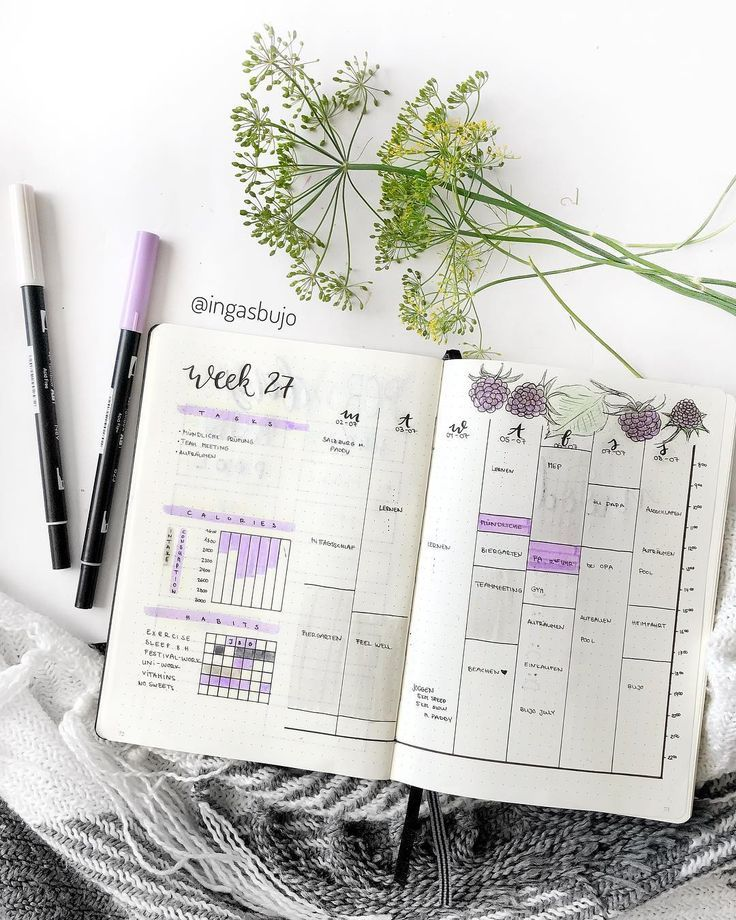 Project Management with Bullet Journaling (Free Template) Bullet