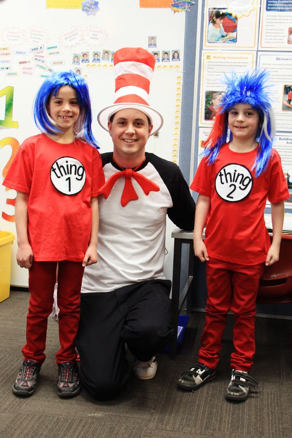 easy diy cat in the hat costume for male teacher black pants jersey w - Cat In The Hat Halloween Costume Ideas
