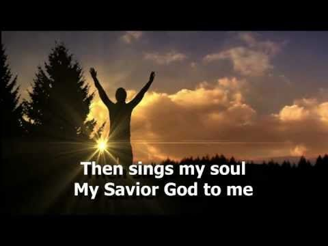 How Great Thou Art W Lyrics As Sung By Carrie Underwood