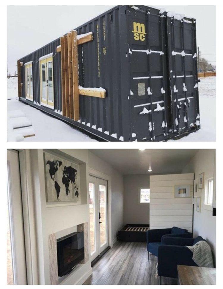 Shipping container home todo con contenedores en 2019 - Contenedores casas prefabricadas ...
