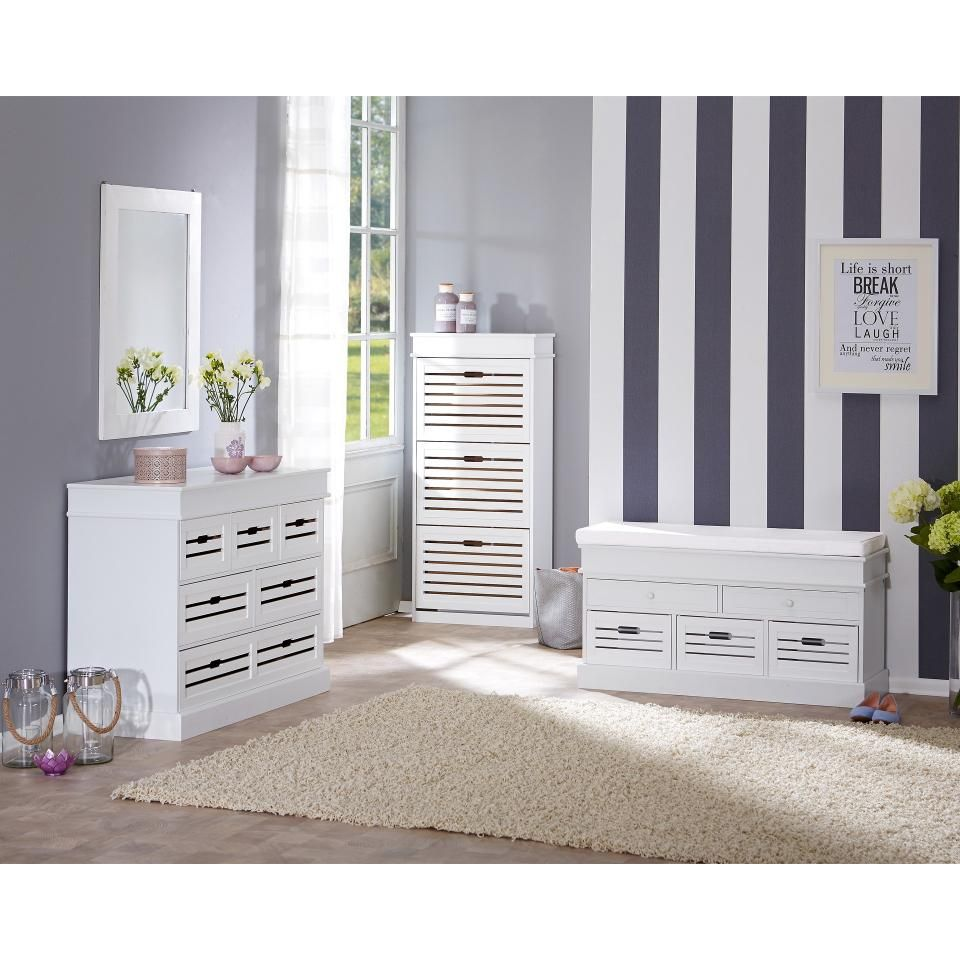 weisse sitzbank mit stauraum interesting full size of sitzbank weis flur garderobe kinder diele. Black Bedroom Furniture Sets. Home Design Ideas