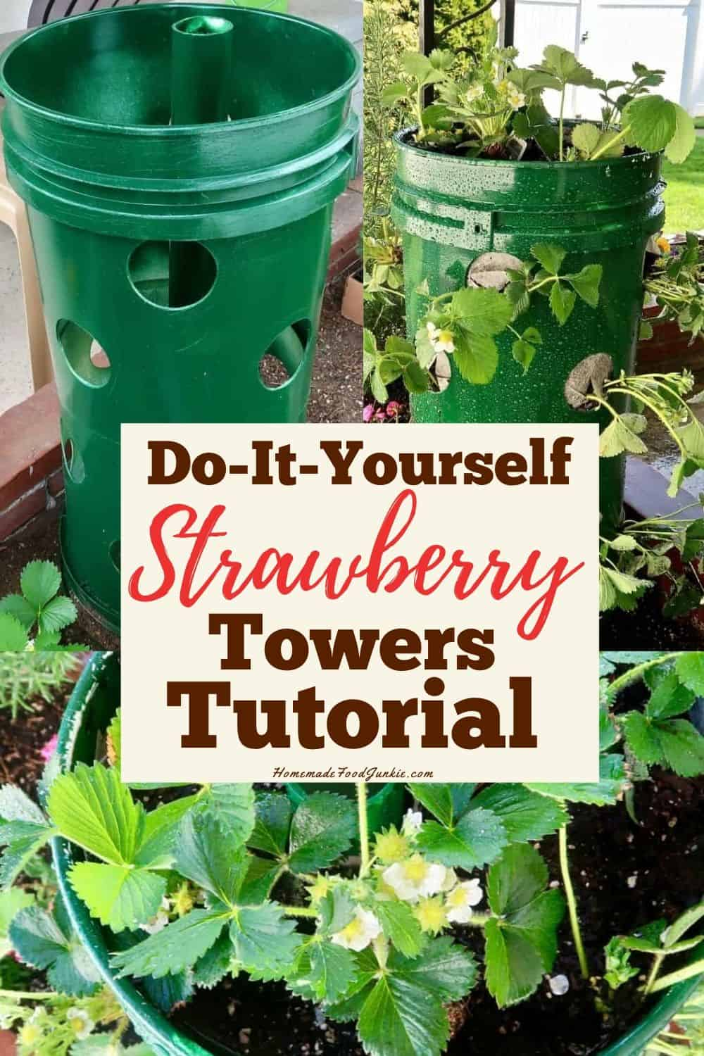 How to Make a Strawberry Tower