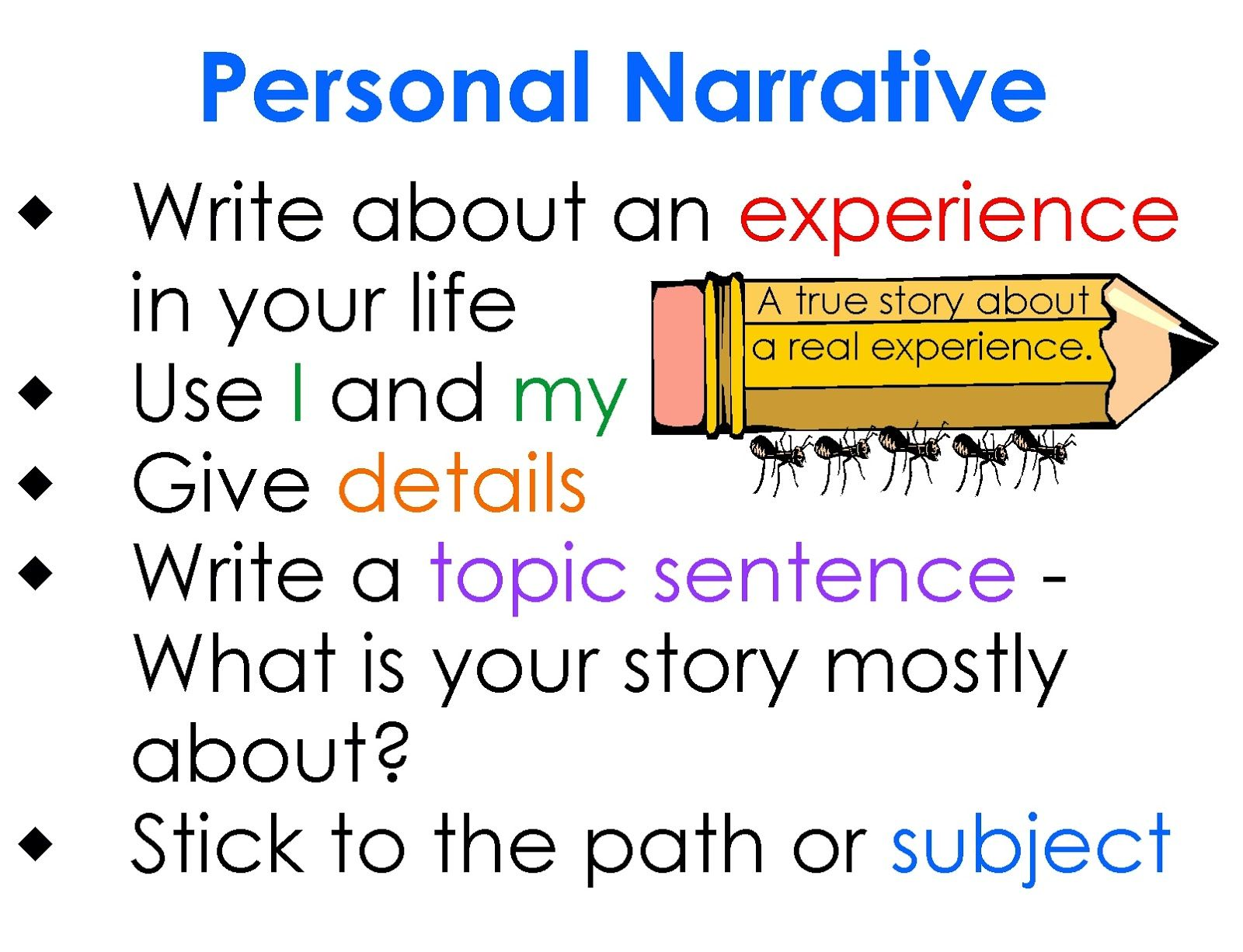 Personal essay tips