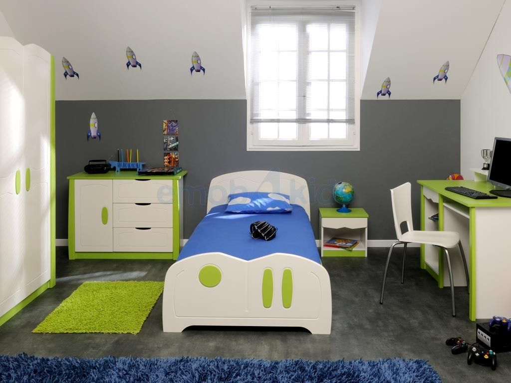 Chambre d 39 adolescent spaceship id e chambre gar on pinterest gar on - Decoration chambre garcon ...