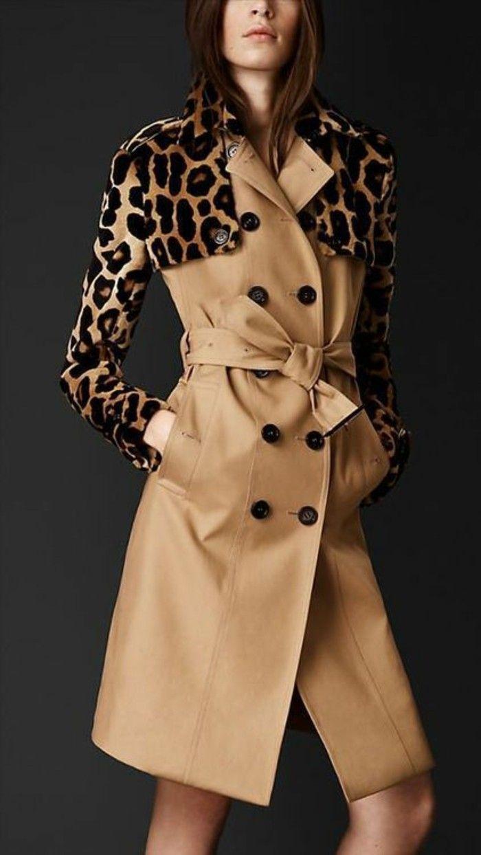 Veste trench femme burberry