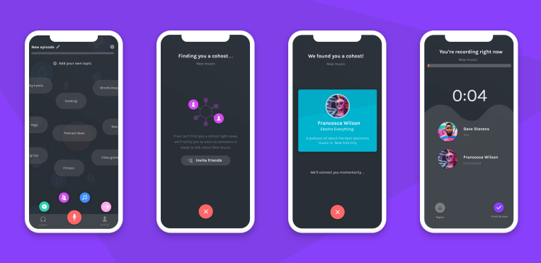 Podcasting app Anchor can now find you a cohost Finding