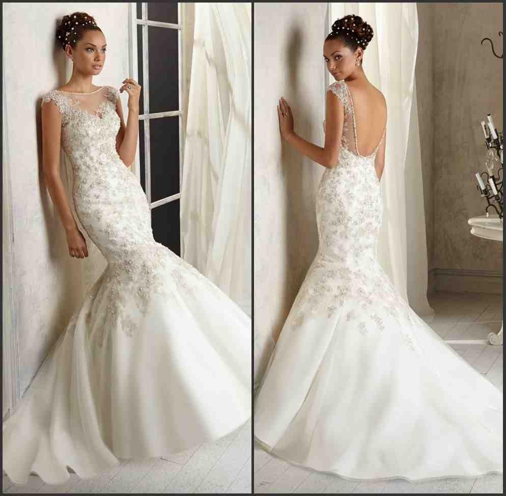 Mermaid Wedding Dress Pattern Mermaid Wedding Dress Pattern Wedding Dress Patterns Backless Mermaid Wedding Dresses
