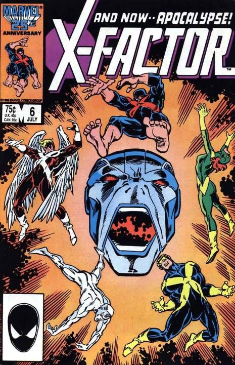 X-Factor #6, Apocalypse in his first appearance