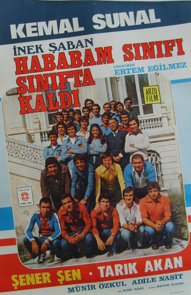 HABABAM SINIFI SINIFTA KALDI  http://mubi.com/films/hababam-sinifi-sinifta-kaldi