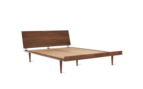 American Modern Bed By Copeland At Dwr Ca King In Walnut 3355 72 25 Wide