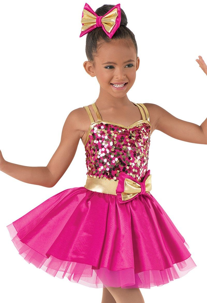 Weissman™ | Sequin Top with Bubble Skirt | Trajes baile | Pinterest ...