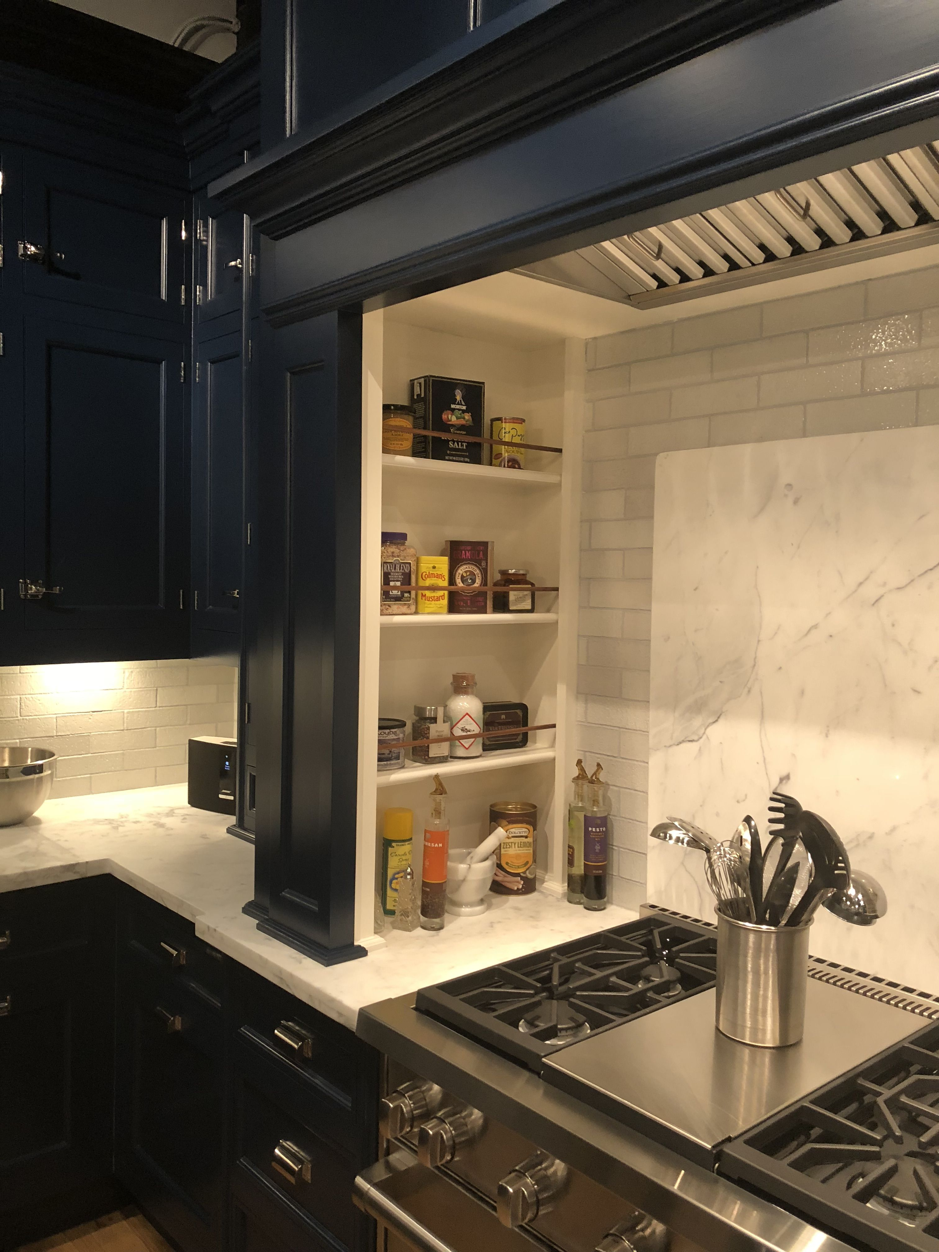 Custom Cabinetry With Spice Racks Custom Organize Luxury Kitchen And Bath Design Kitchen And Bath Bath Design