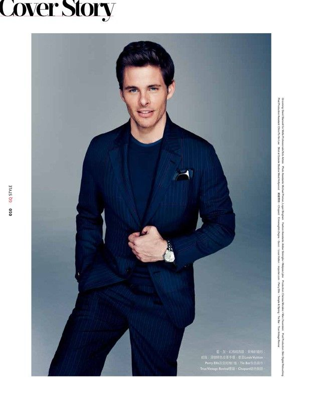 James Marsden is Dashing for GQ STYLE TAIWAN