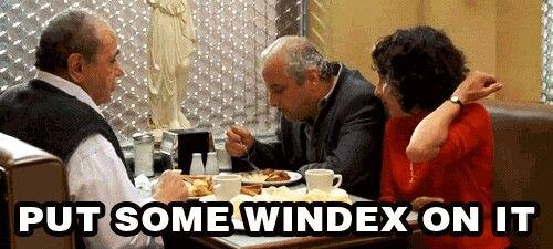 My Big Fat Greek Bottle of Windex! | Hollywood Talk of Fame | Pinterest
