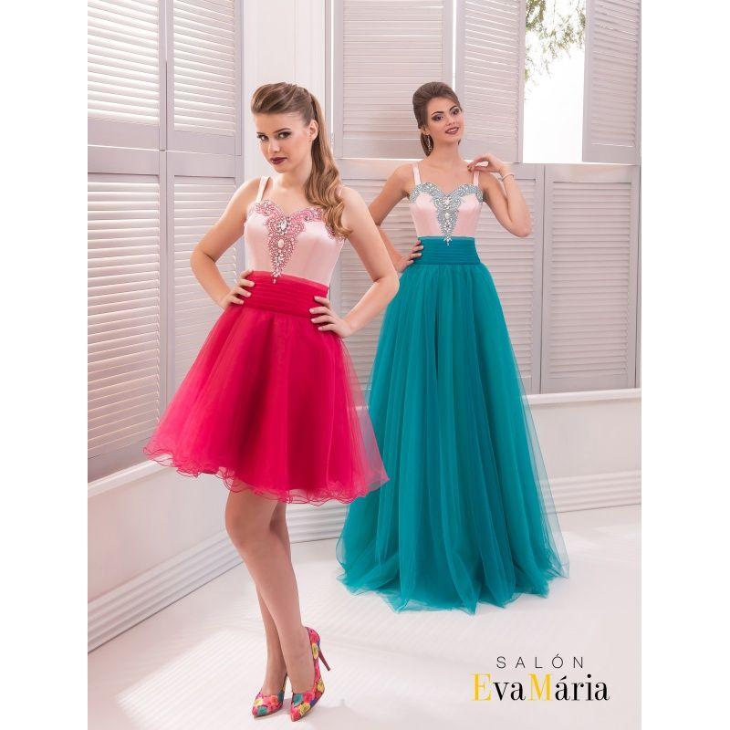92f86f40c470 Krásne spoločenské šaty s ramienkami zdobené kamienkami