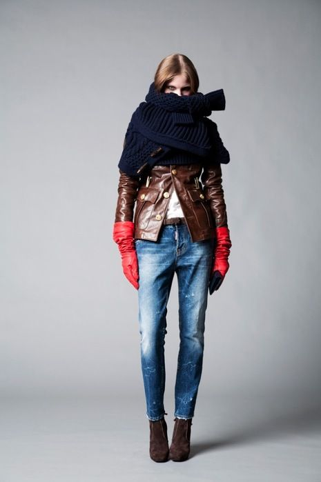 cool chic style fashion: DSQUARED2