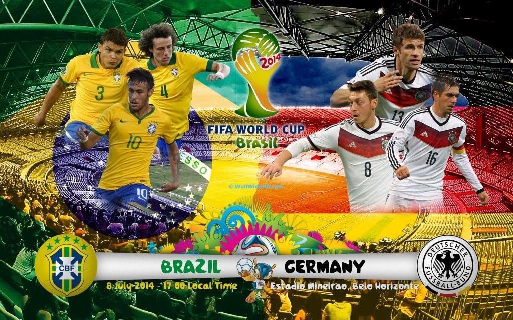 Xem lại trận đấu kinh hoàng Brazil vs Đức, World Cup 2014