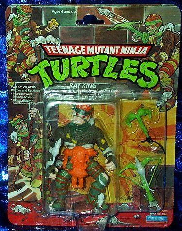 1989 Rat King TMNT Playmates Teenage Mutant Ninja Turtles Action Figure