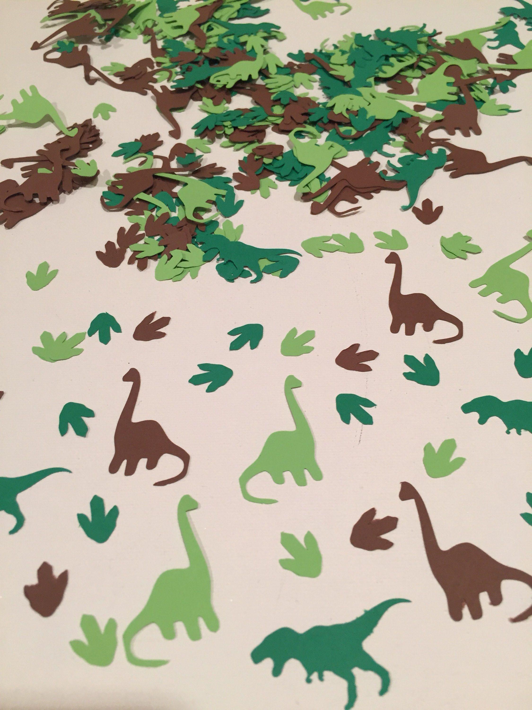 Dinosaur Confetti, Dinosaur Birthday Party Decor, Dinosaur Decor, Boys Dinosaur