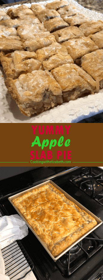 Apple Slab pie crusts topped with a layer of spiced apple slices and drizzled with a sweet glaze — a perfect baked dessert for a crowd.# Apple #Slab...#apple #baked #crowd #crusts #dessert #drizzled #glaze #layer #perfect #pie #slab #slices #spiced #sweet #topped