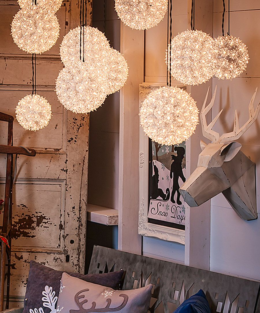 Look At This 10 Hanging Sphere Light On Zulily Today Sphere Light Barn Decor Outdoor Hanging Lights