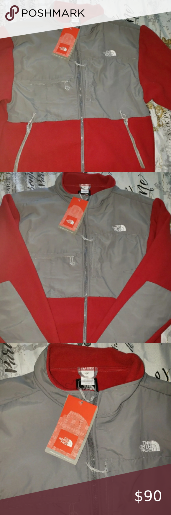 2x North Face Jacket New With Tags Red Gray Women S Plus Size North Face Jacket Doesn T Fit Me And I Can T Return North Face Jacket Jackets Jackets For Women [ 1740 x 580 Pixel ]
