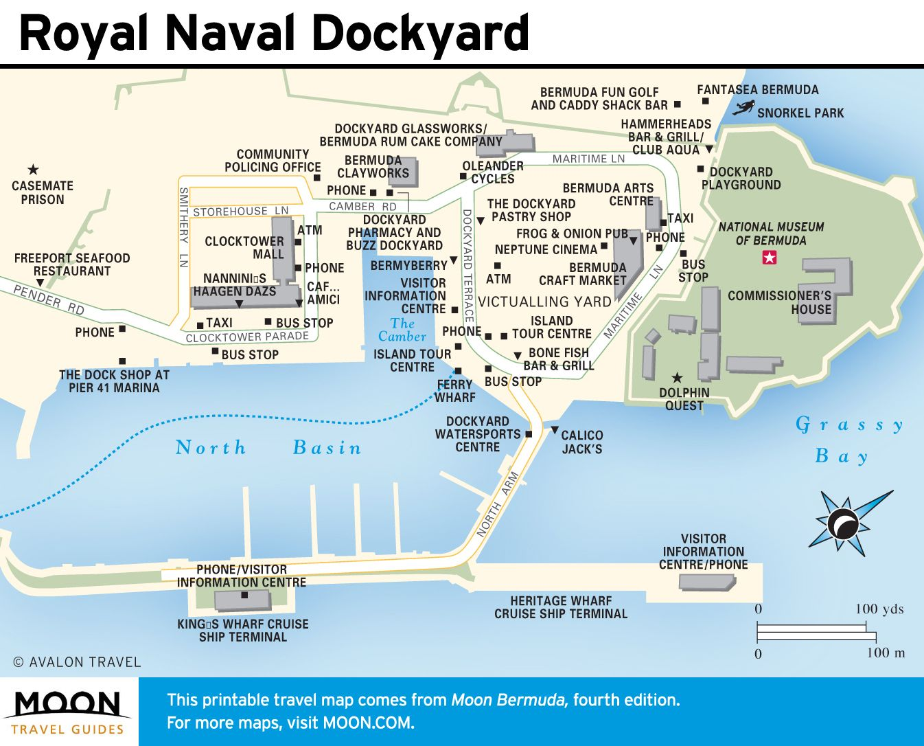 Map of Royal Navy Wharf Bermuda Pinterest Cruises
