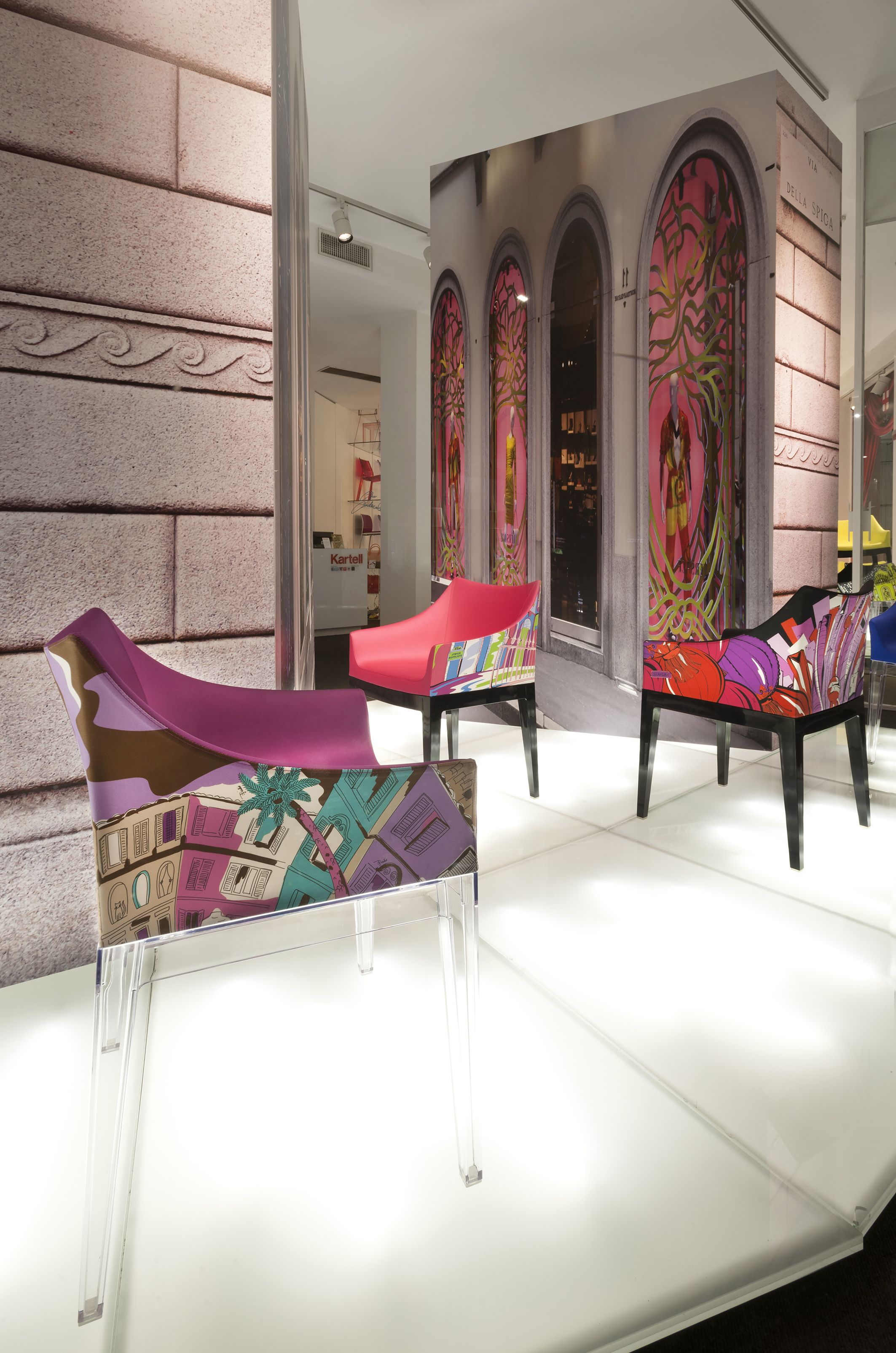 Philippe Starck White Interior - Madame world of emilio pucci edition design philippe starck