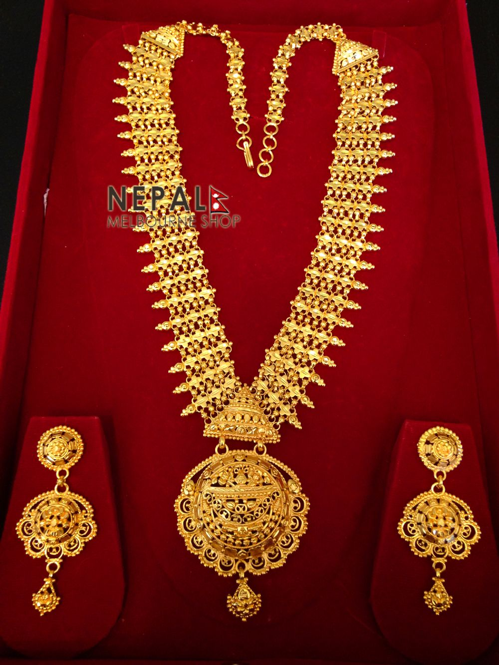 Gold rani haar pictures to pin on pinterest - Raani Haar Pearl Google Search