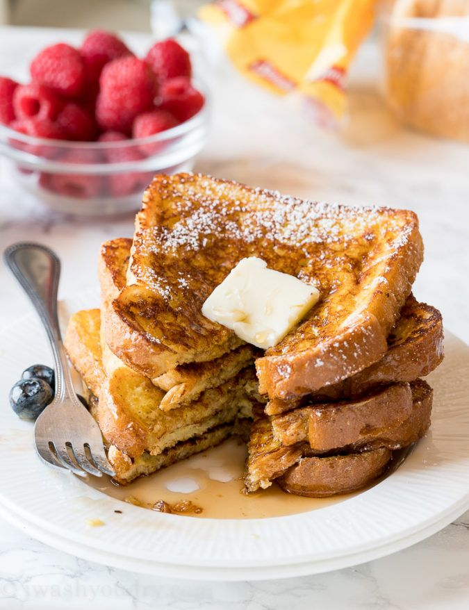Classic French Toast | Recipe | Homemade french toast ...