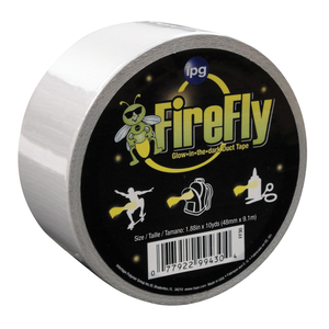 Firefly glow in the dark duct tape.