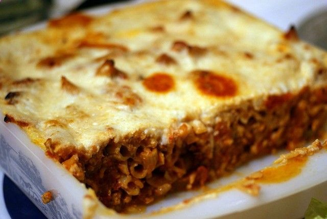 This is one of my favorite recipes From The Good Carbs Cookbook by Sandra Woodruff Blogged: matahari.typepad.com/blog/2011/02/healthy-pastitsio.html Great recipe looks really good check out this great anabolic cookbook I found: Click-Here-Now.To...