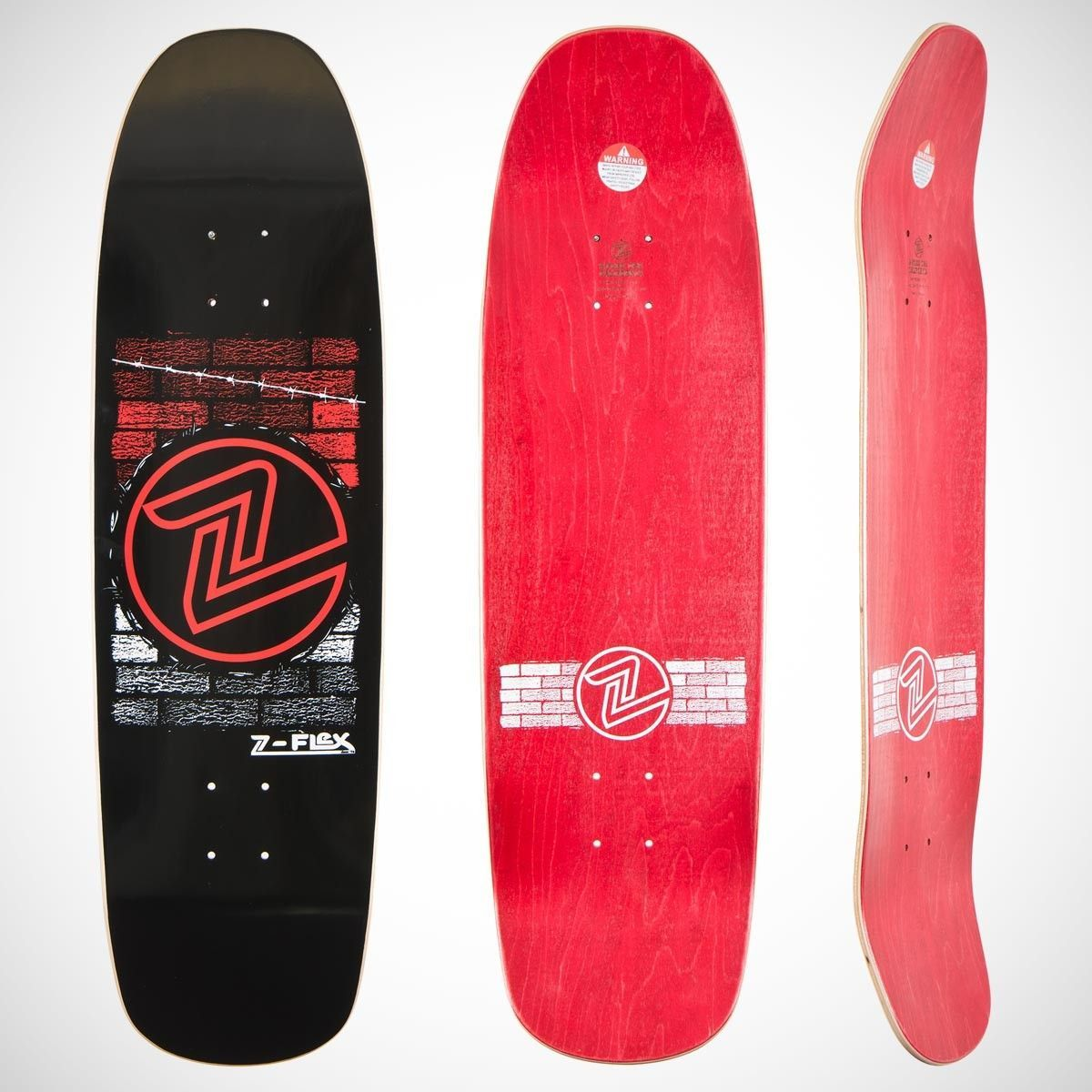 Z Flex Skateboards Brick 9 Deck Skateboard Deck Art Skateboards Skateboard Decks