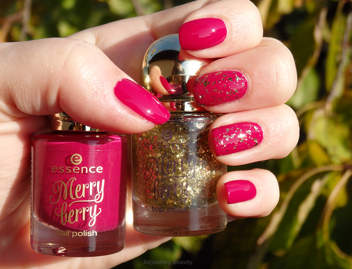 Review of Essence LE Merry Berry nail polish 03 Pink & Perfect and ...