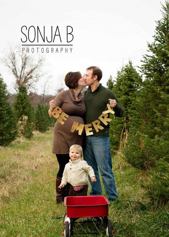 Christmas Tree Farm Sessions In Cincinnati Ohio With Sonja B Photography, A  Family And Child