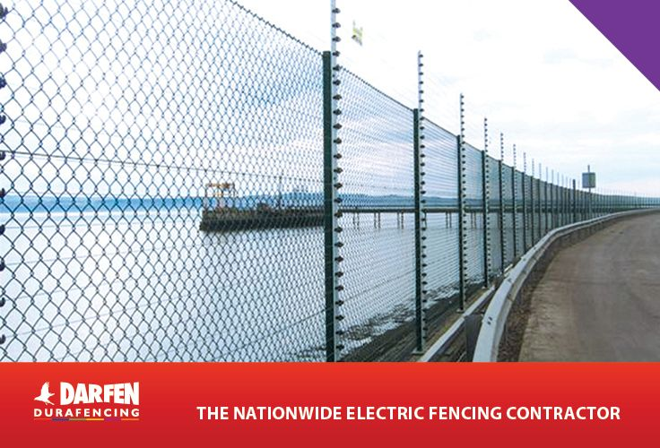 Darfen Triton welded mesh fencing installation at Clyde Bank in ...