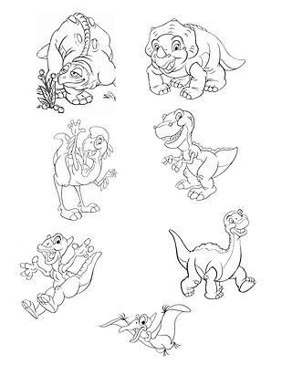 land before time wall mural