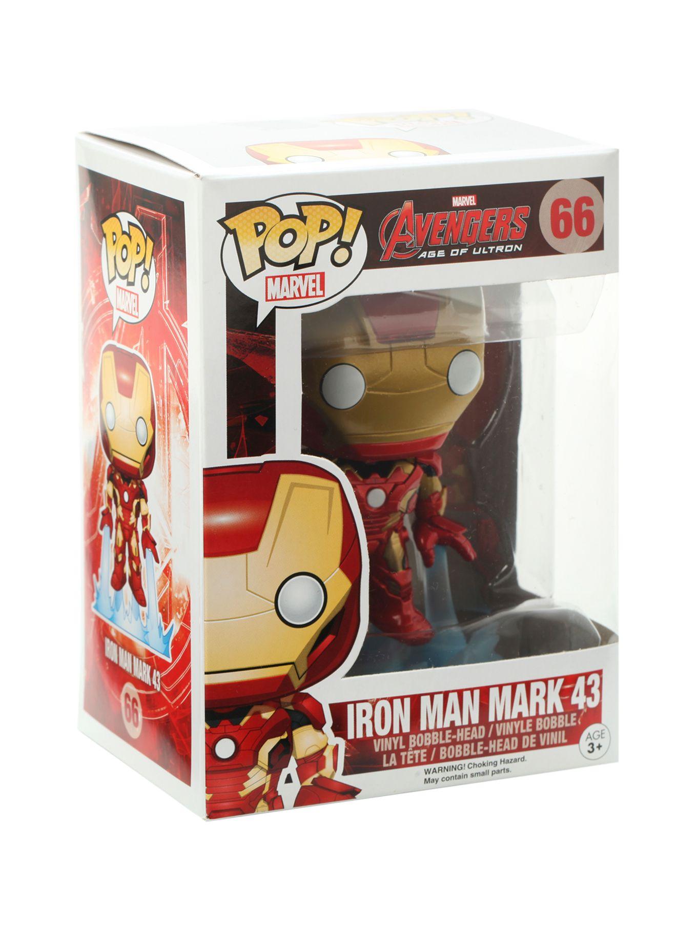 Funko POP! Marvel Avengers: Age Of Ultron Iron Man Mark 43