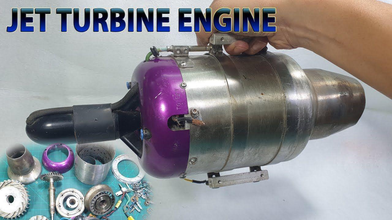 What's inside Jet Turbine Engine RC Plane | RADIO CONTROLLED