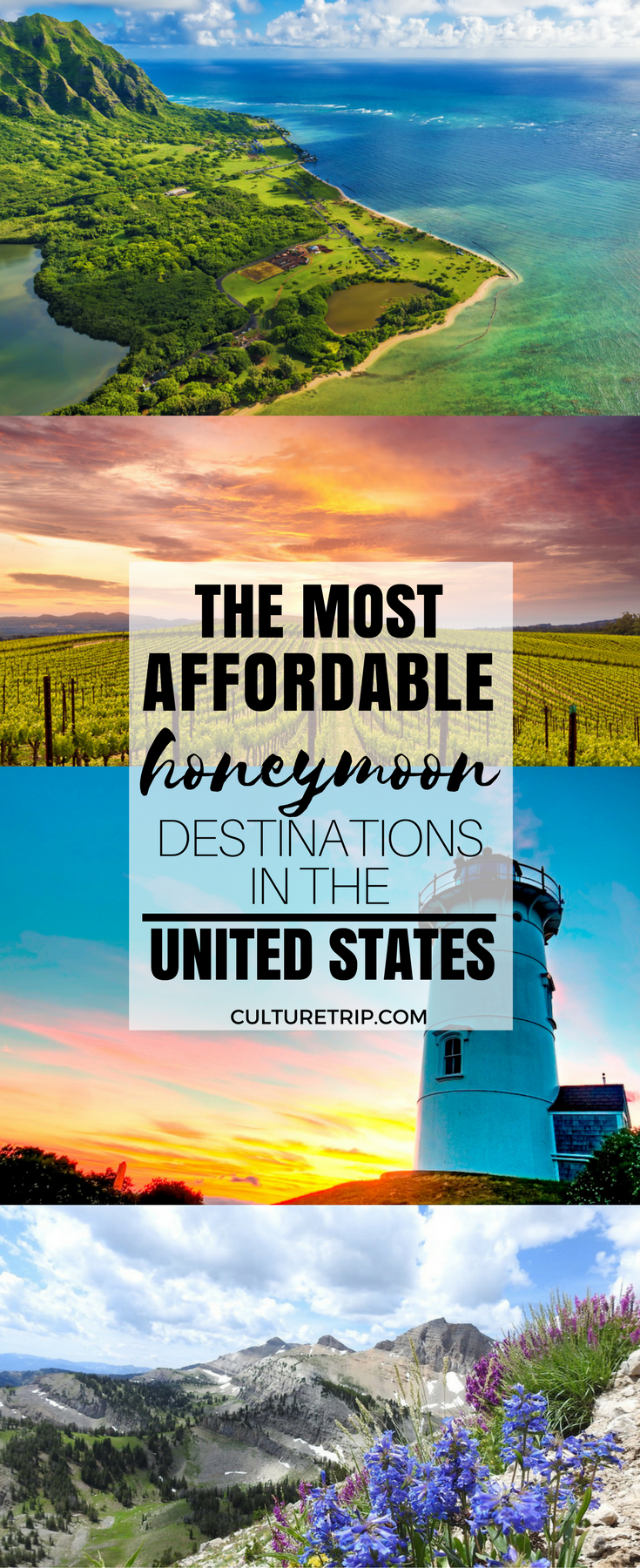 the most affordable honeymoon destinations in the united states in