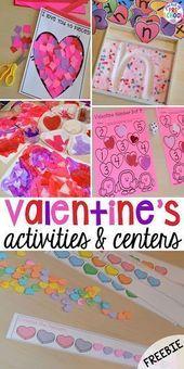 Photo of Themenzentren und Aktivitäten zum Valentinstag – Tasche der Vorschule – #Activit …
