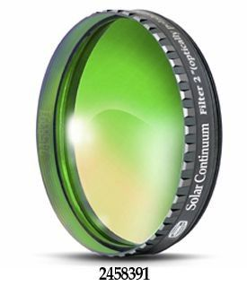 "Baader Solar Continuum Filter 2"" Refracting telescope"