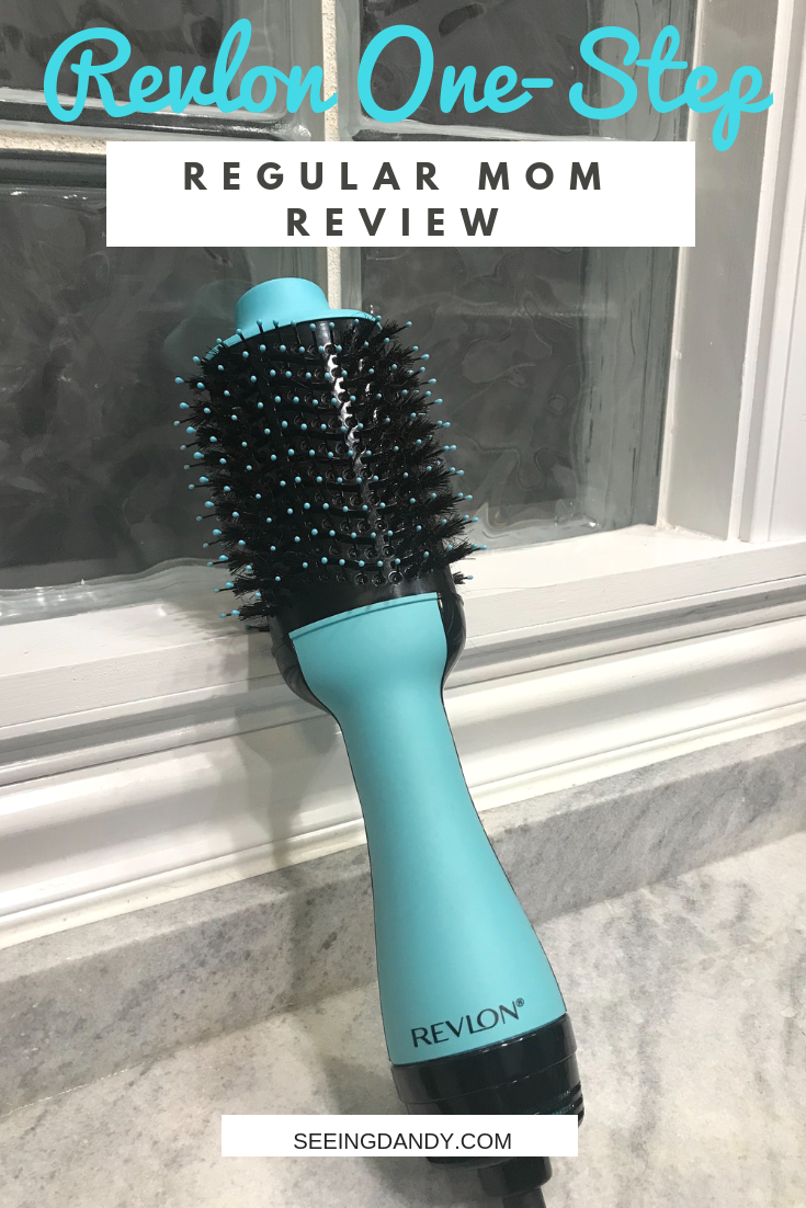 Revlon One Step Hair Dryer Regular Mom Review Seeing Dandy Revlon Hair Dryer Hair Dryer Styler Dry Curly Hair
