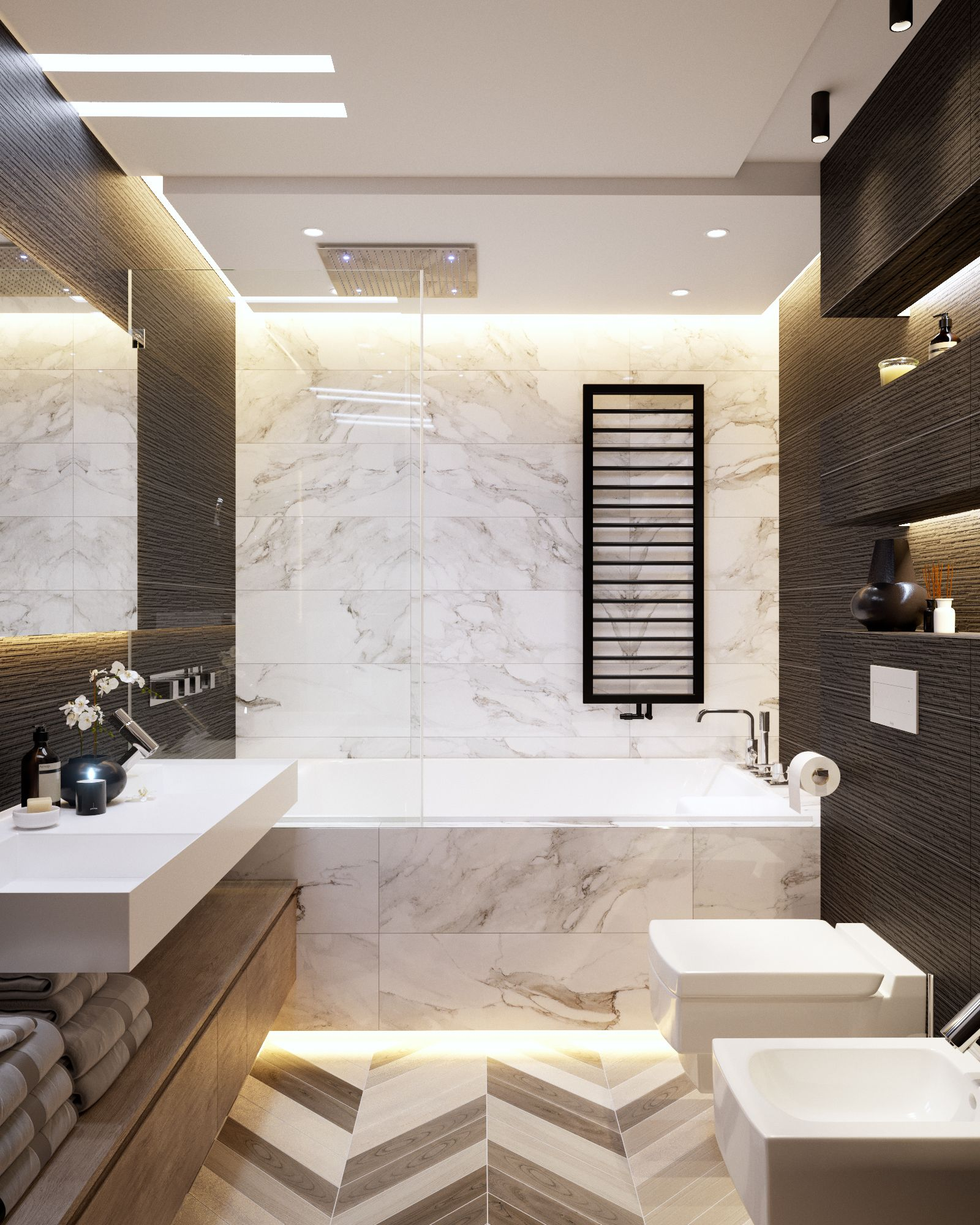 Interior design on instagram  cbeautiful bathroom by wow designeu      going to take  bath maybe shower in home decor house also rh pinterest