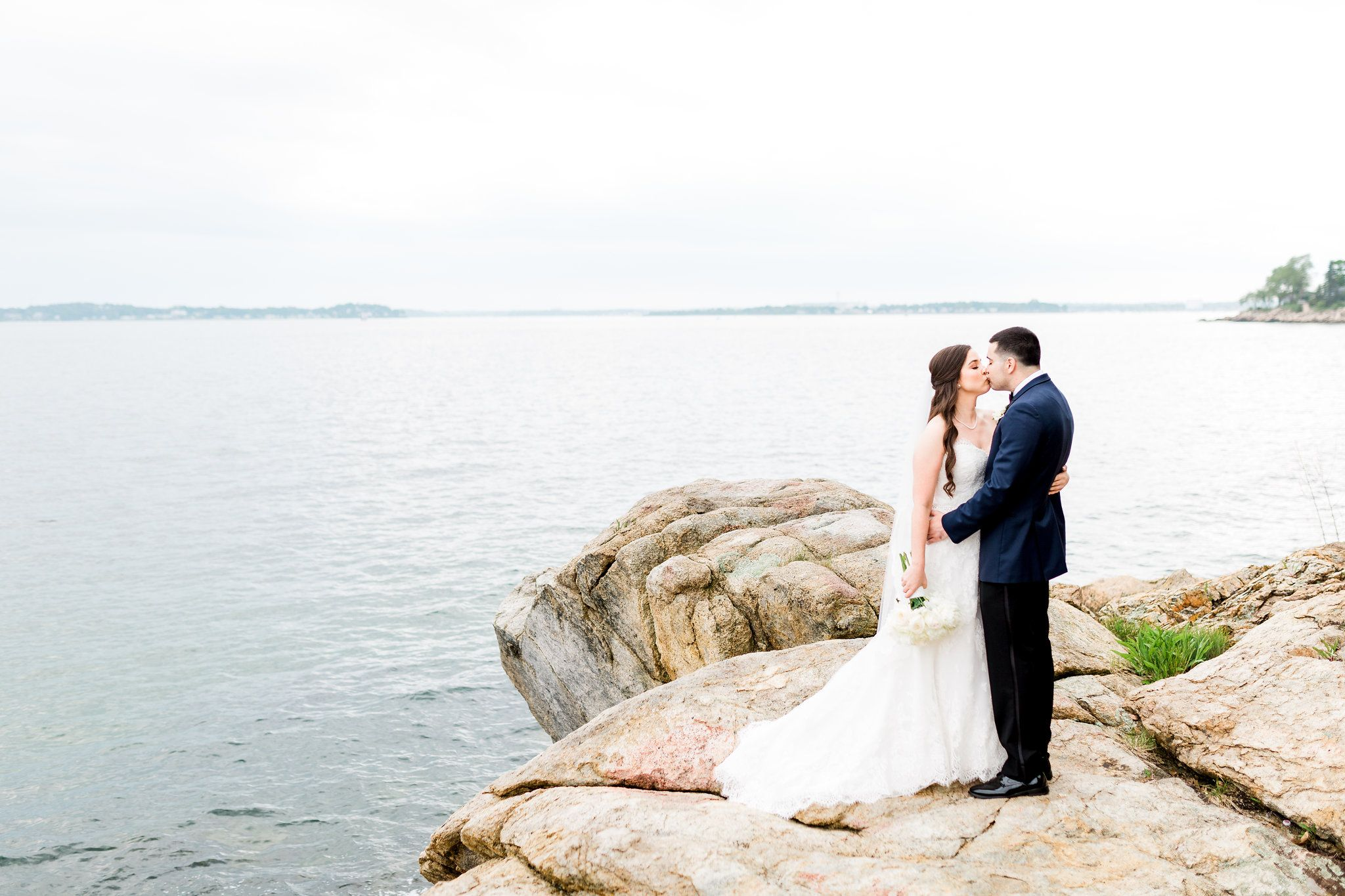 New England Beach Wedding